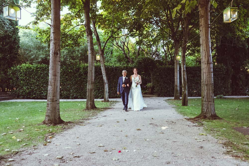foto di matrimonio semplicità