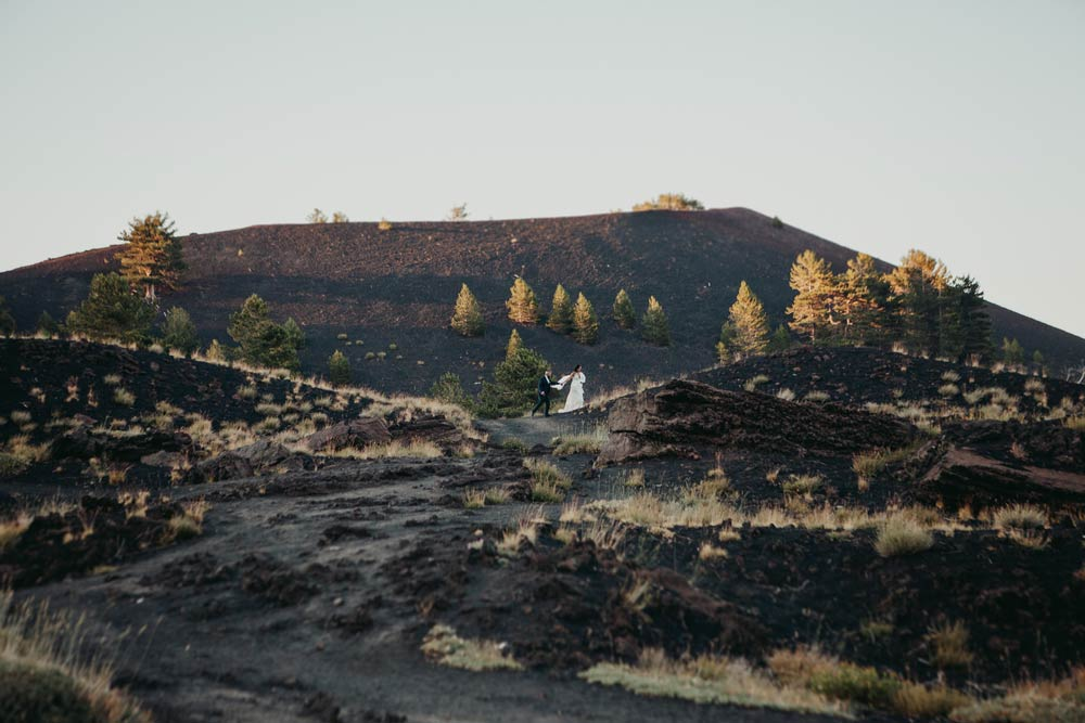 Matrimonio sull'Etna